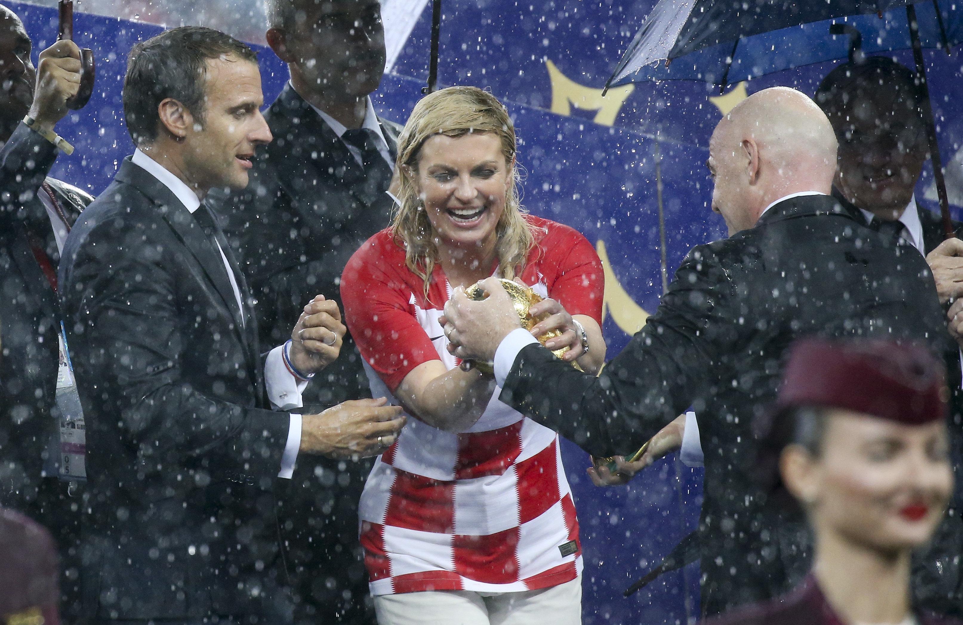 Deutschland feiert Kroatiens Präsidentin für WM-Auftritt – in ihrer Heimat wird sie