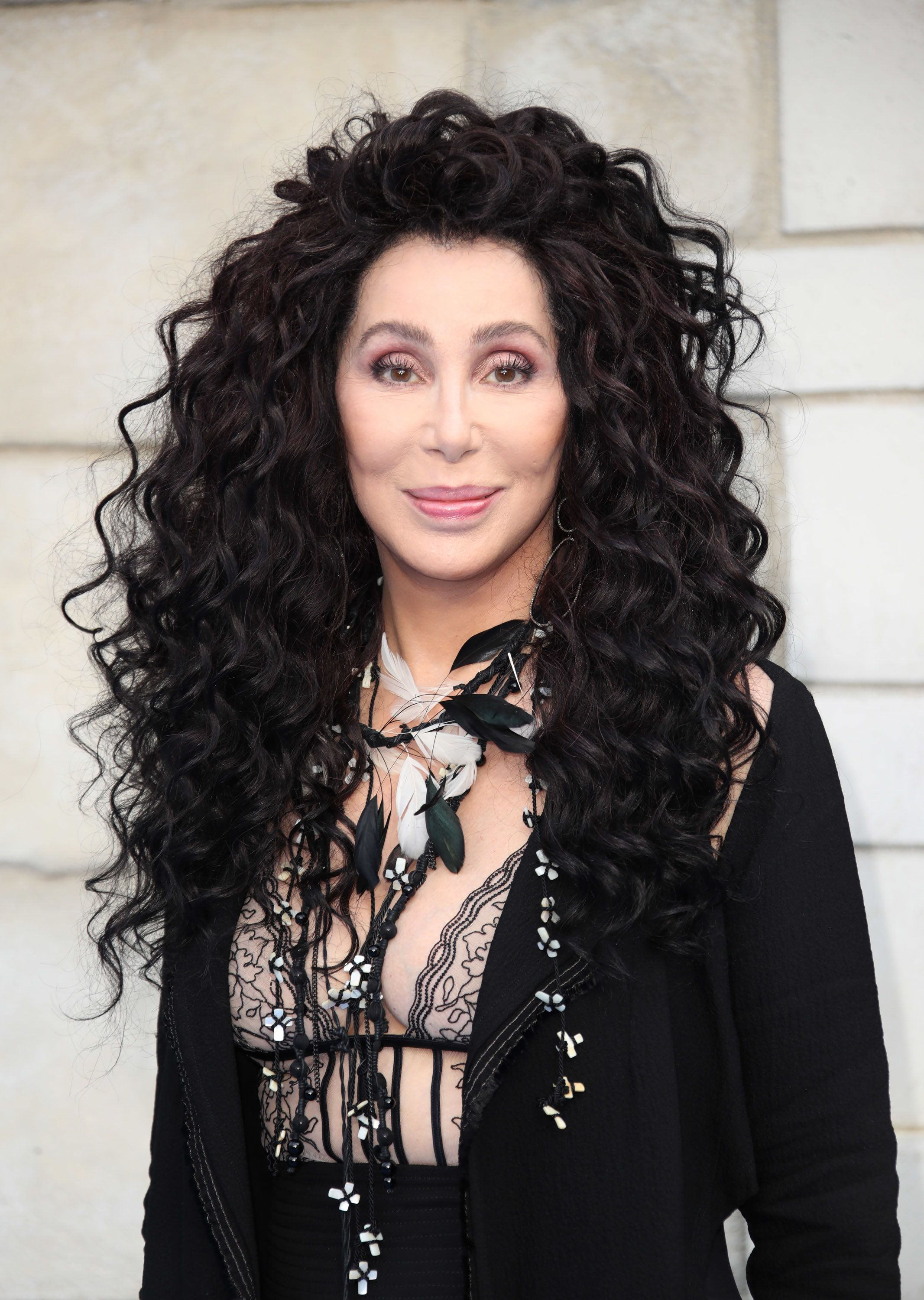 LONDON, ENGLAND - JULY 16:  Cher attends the UK Premiere of 'Mamma Mia! Here We Go Again' at Eventim Apollo on July 16, 2018 in London, England.  (Photo by Mike Marsland/Mike Marsland/WireImage)
