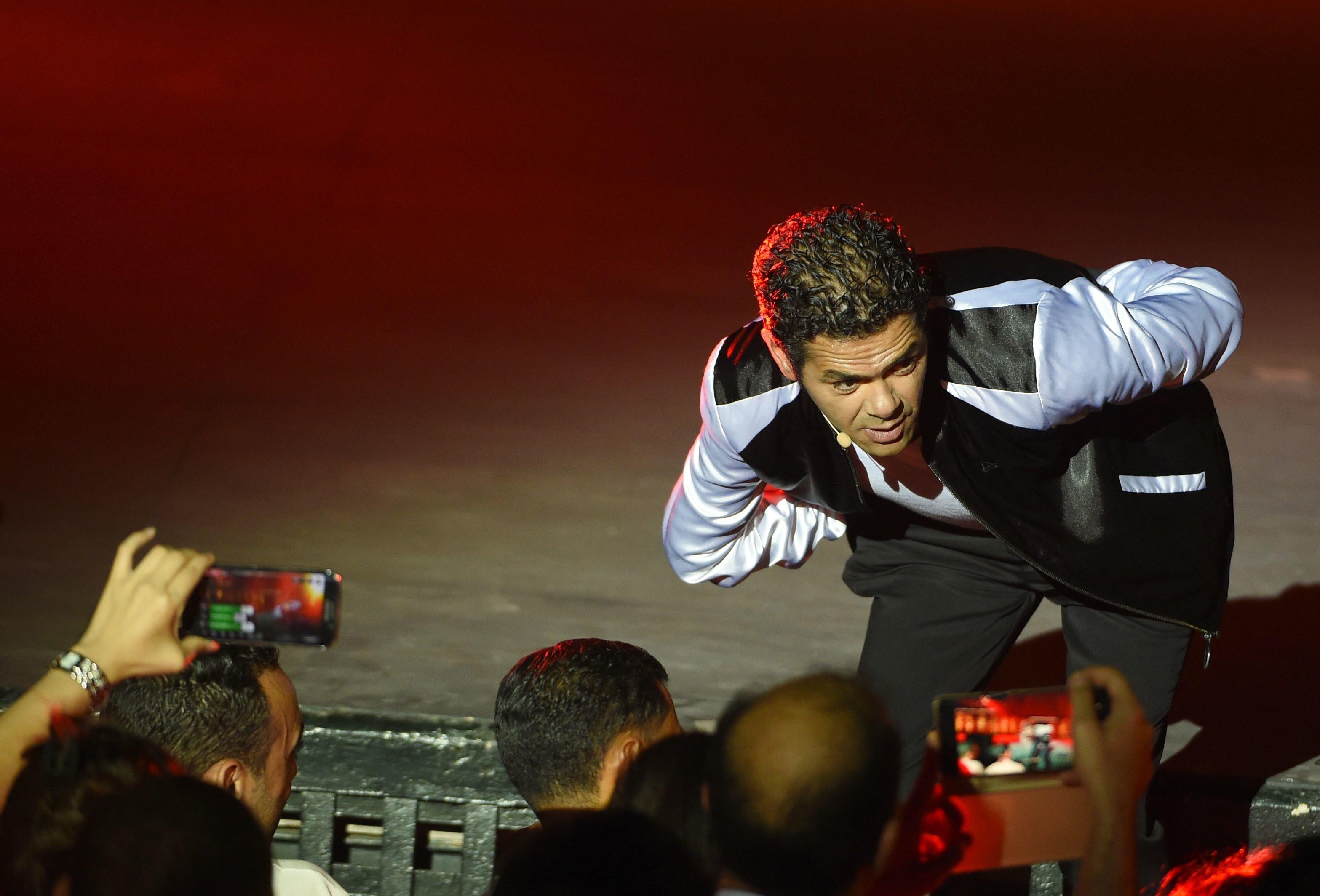 """Festival International de Carthage - """"Jamel président!"""": Jamel Debbouze, égal à lui même, a conquis son"""