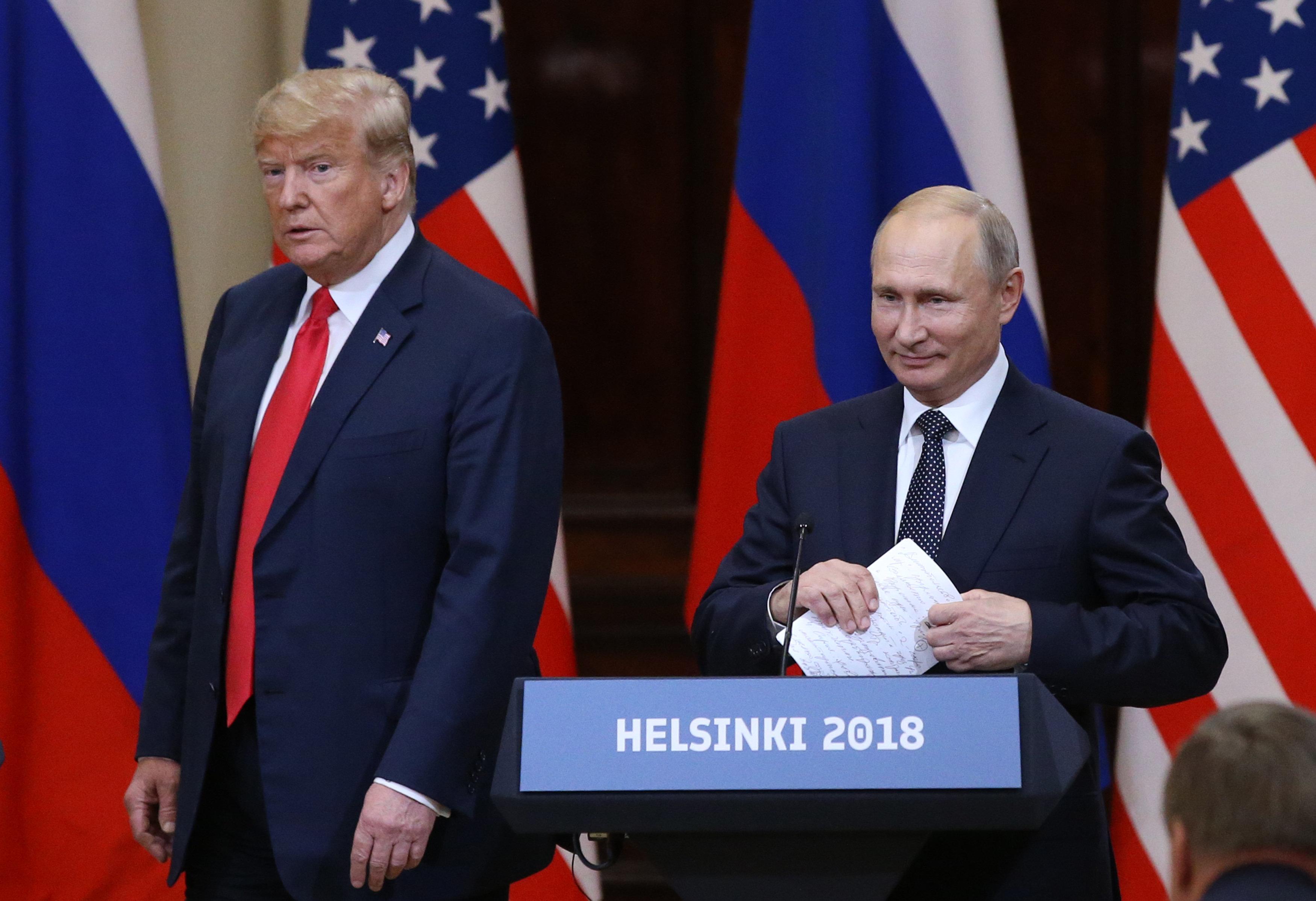 Am Montag hat Russland den neuen Kalten Krieg
