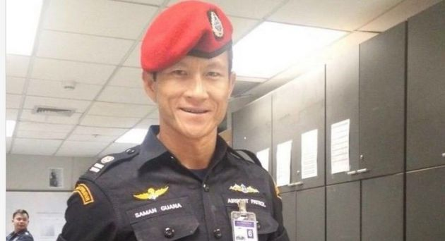 Thai Navy SEAL Saman Gunandied part way through the mission to save 12 young football players and...