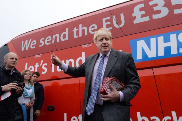 Boris Johnson and the infamousVote Leave campaign