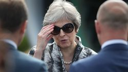 Theresa May Is Standing On A Glass Cliff