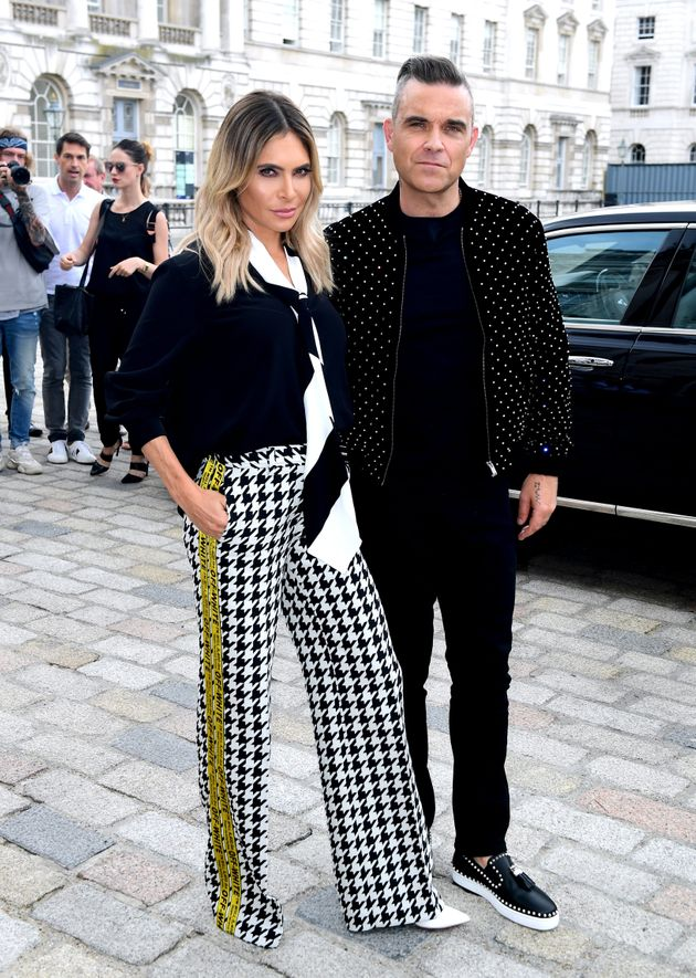 Ayda Field and Robbie