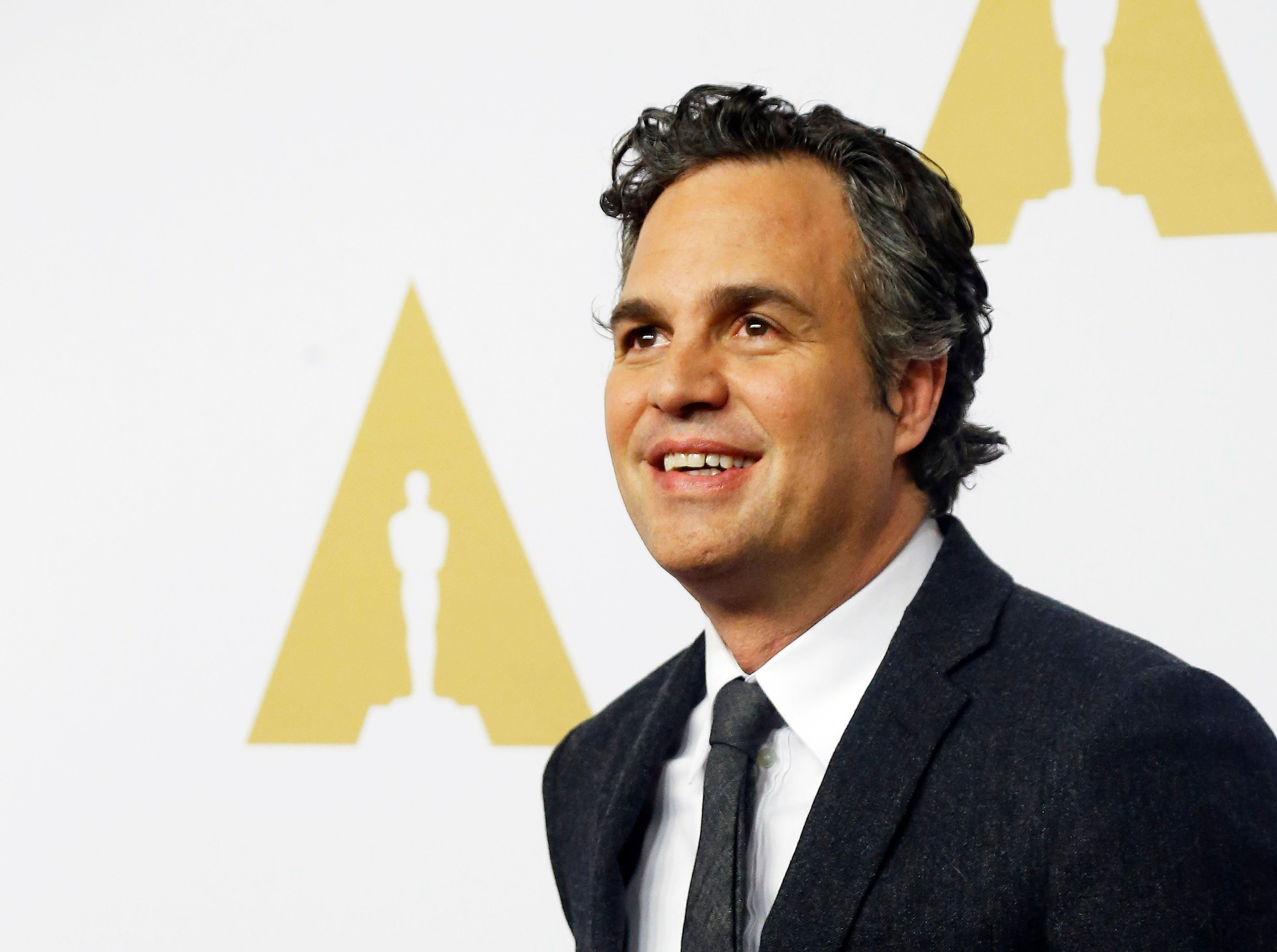 Actor Mark Ruffalo arrives at the 88th Academy Awards nominees luncheon in Beverly Hills, California February 8, 2016.  REUTERS/Mario Anzuoni