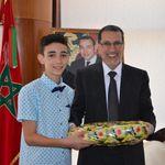 Cet écolier méritant a été reçu par Saad-Eddine El
