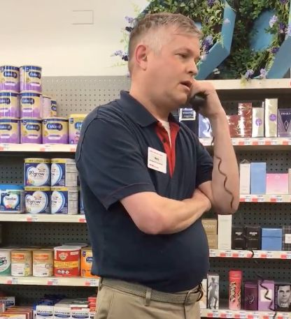 CVS employee Morry Matson appears to have called the police after Camilla Hudson, a black customer, presented a coupon he sus