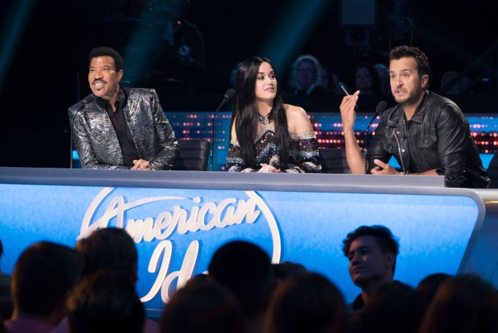 "Luke Bryan serves as a judge on ""American Idol"" alongside Lionel Richie and Katy Perry."