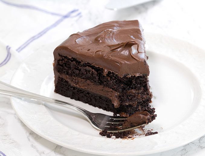 "You can find this <a href=""https://glutenfreeonashoestring.com/quinoa-gluten-free-chocolate-cake/"" target=""_blank"">gluten-free quinoa chocolate cake recipe</a> on the Gluten-Free On A Shoestring blog."