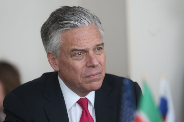 Days after U.S. Ambassador to Russia Jon Huntsman talked about needing to hold Moscow accountable for election interference,