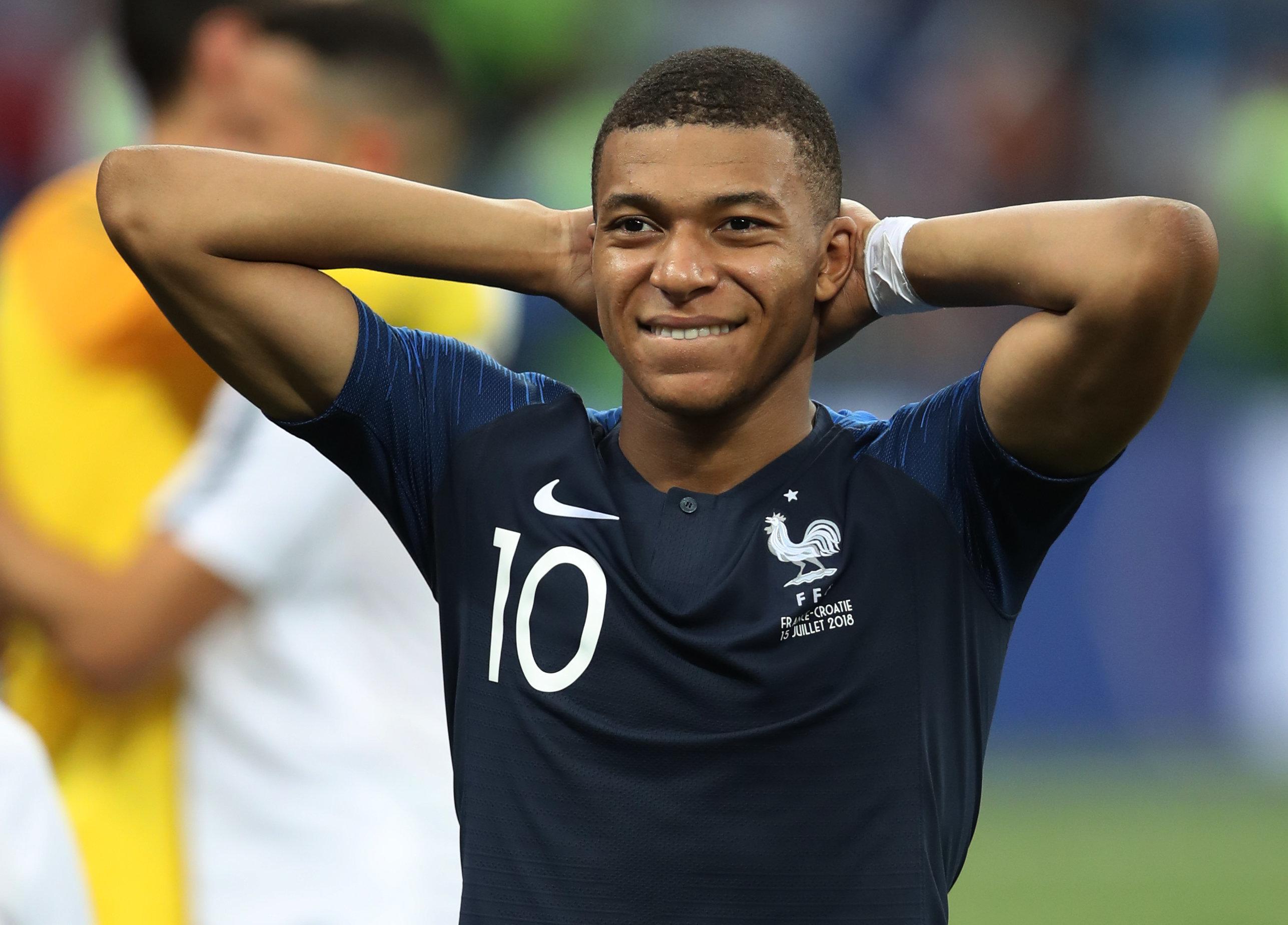 음바페가 이번 월드컵에서 받은 상금을 몽땅 써버린