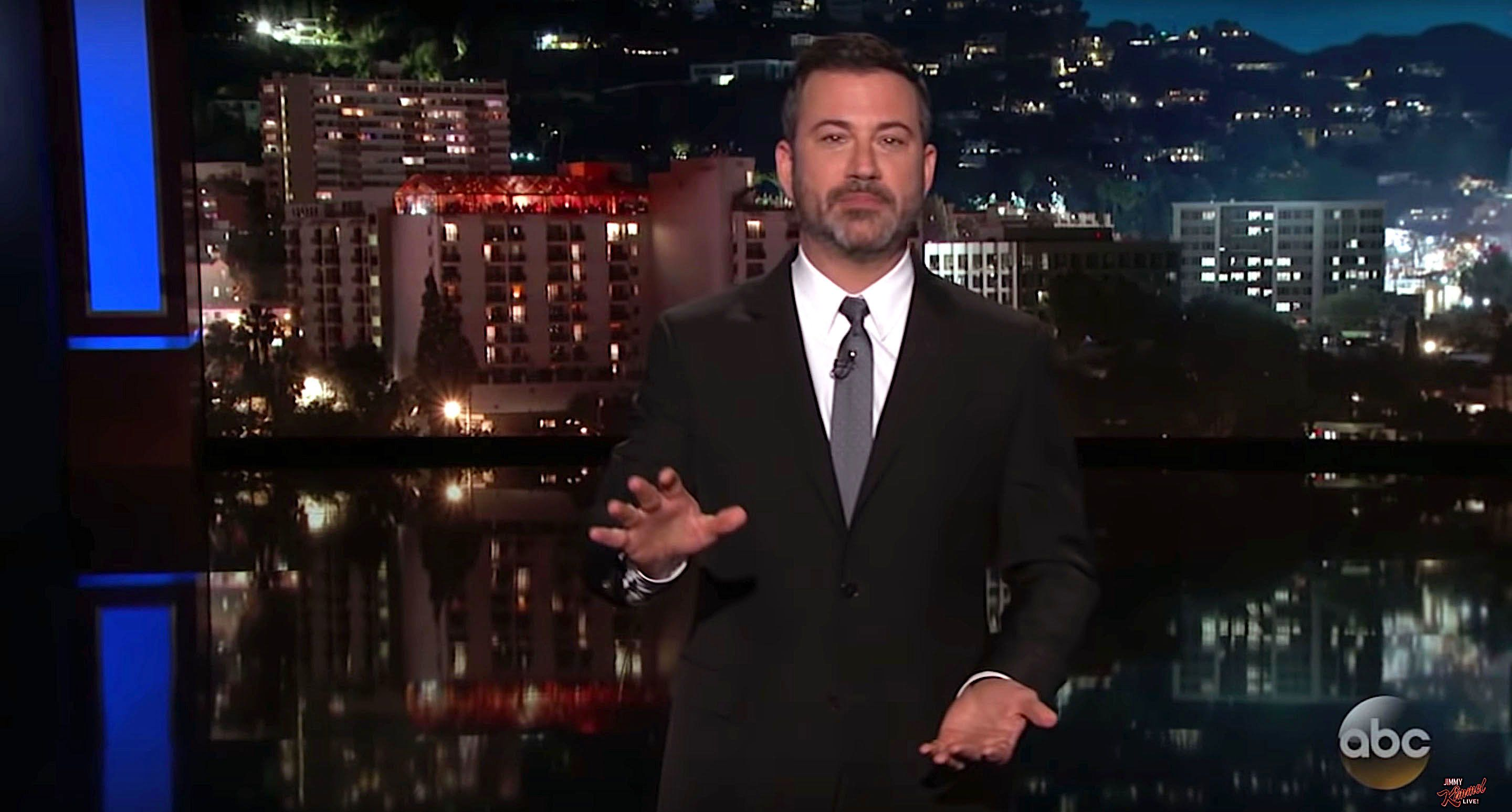 Jimmy Kimmel weighs in on President Donald Trumps clarification