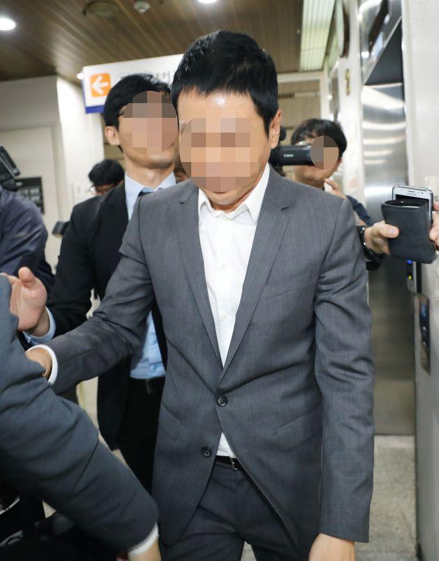 방송인 김정민 협박한 손태영 커피스미스 대표에 대한 1심