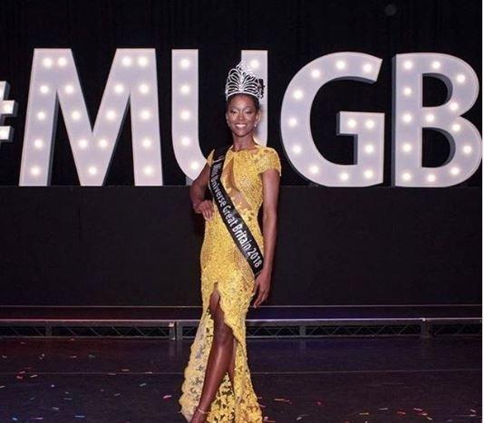 Μια μαύρη καλλονή στέφεται Miss Universe Great Britain για πρώτη φορά στην ιστορία των