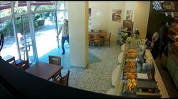Video aus Heilbronn zeigt: Mann stürmt Bäckerei und und schießt auf Verkäuferin mit