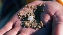 과학자들이 다이아몬드 1000조톤이 매장된 곳을