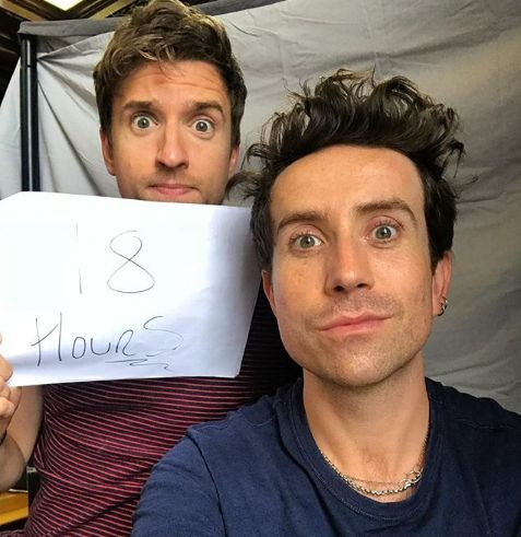 Greg James And Nick Grimshaw Have Been Playing Hide And Seek For Nearly A Whole
