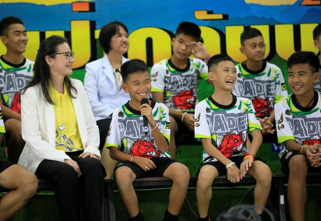 Thailand Cave Rescue: 12 Boys And Coach Leave Hospital And Make First Public