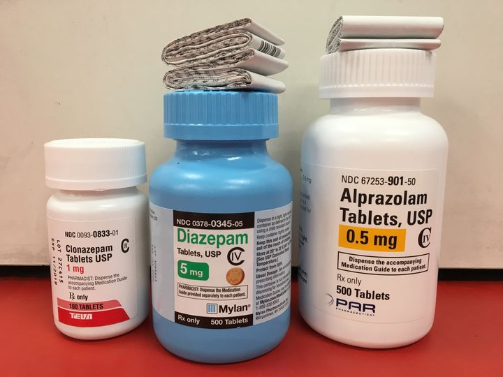 Clonazepam (traded as Klonopin), diazepam (Valium) and alprazolam (Xanax) are among the most sold drugs in a class of widely