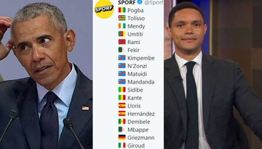 """VIDÉO - Comment la polémique sur les joueurs """"africains"""" des Bleus a fait le tour du monde (sauf en"""