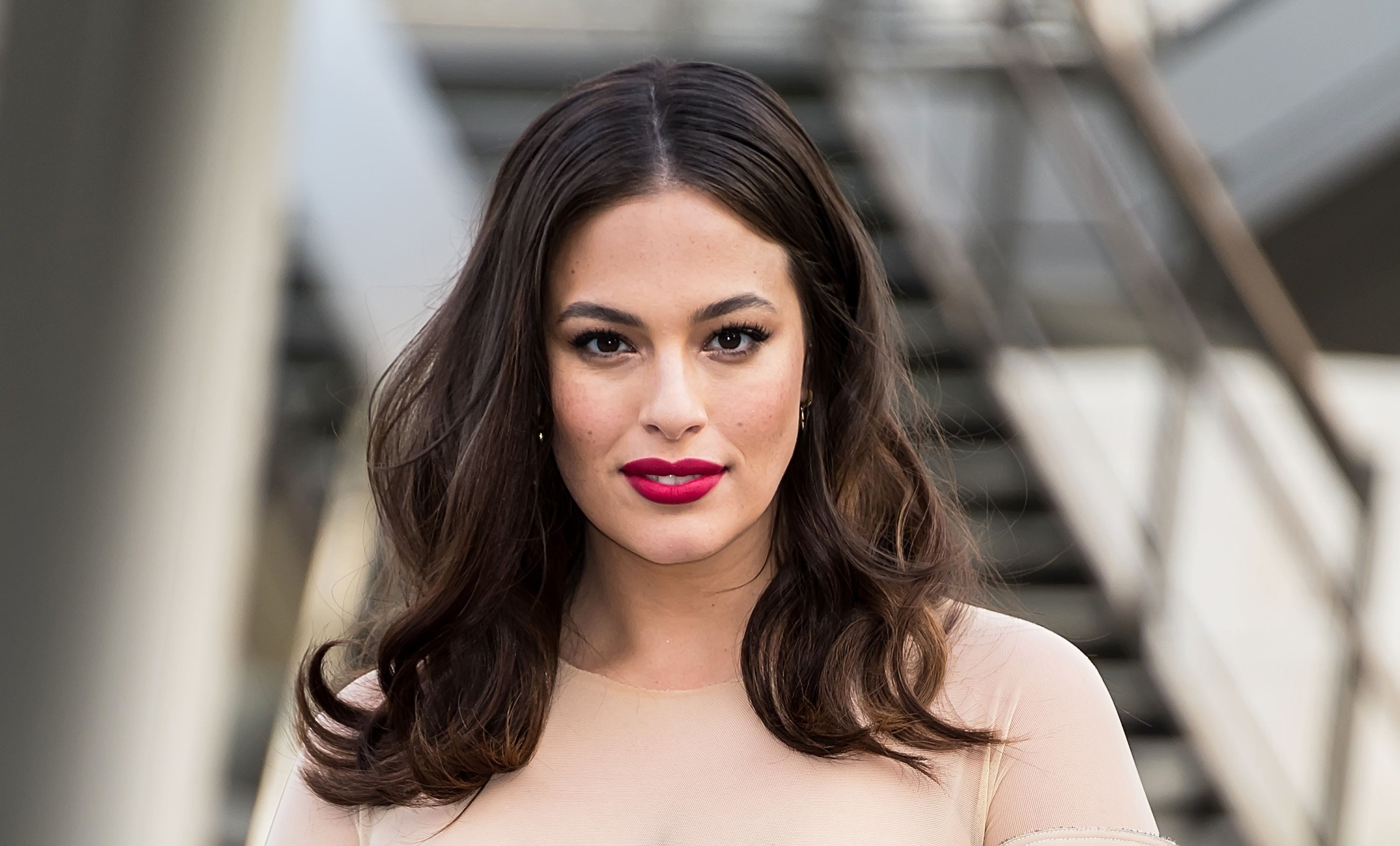 NEW YORK, NY - JUNE 04:  Model Ashley Graham is seen arriving to the 2018 CFDA Fashion Awards at Brooklyn Museum on June 4, 2018 in New York City.  (Photo by Gilbert Carrasquillo/GC Images)