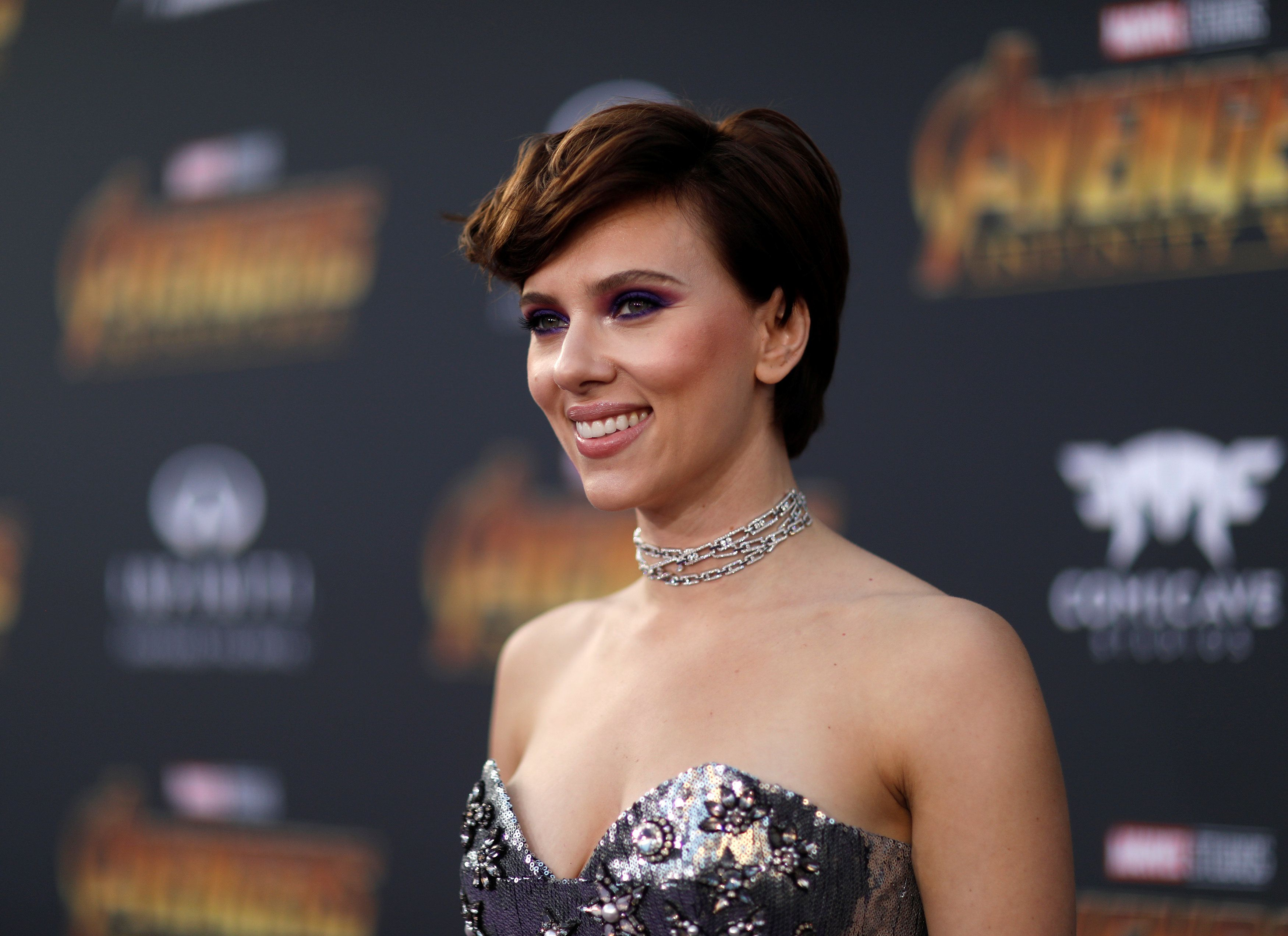 "Premiere of ""Avengers: Infinity War"" - Arrivals - Los Angeles, California, U.S., 23/04/2018 - Actress Scarlett Johansson. REUTERS/Mario Anzuoni"