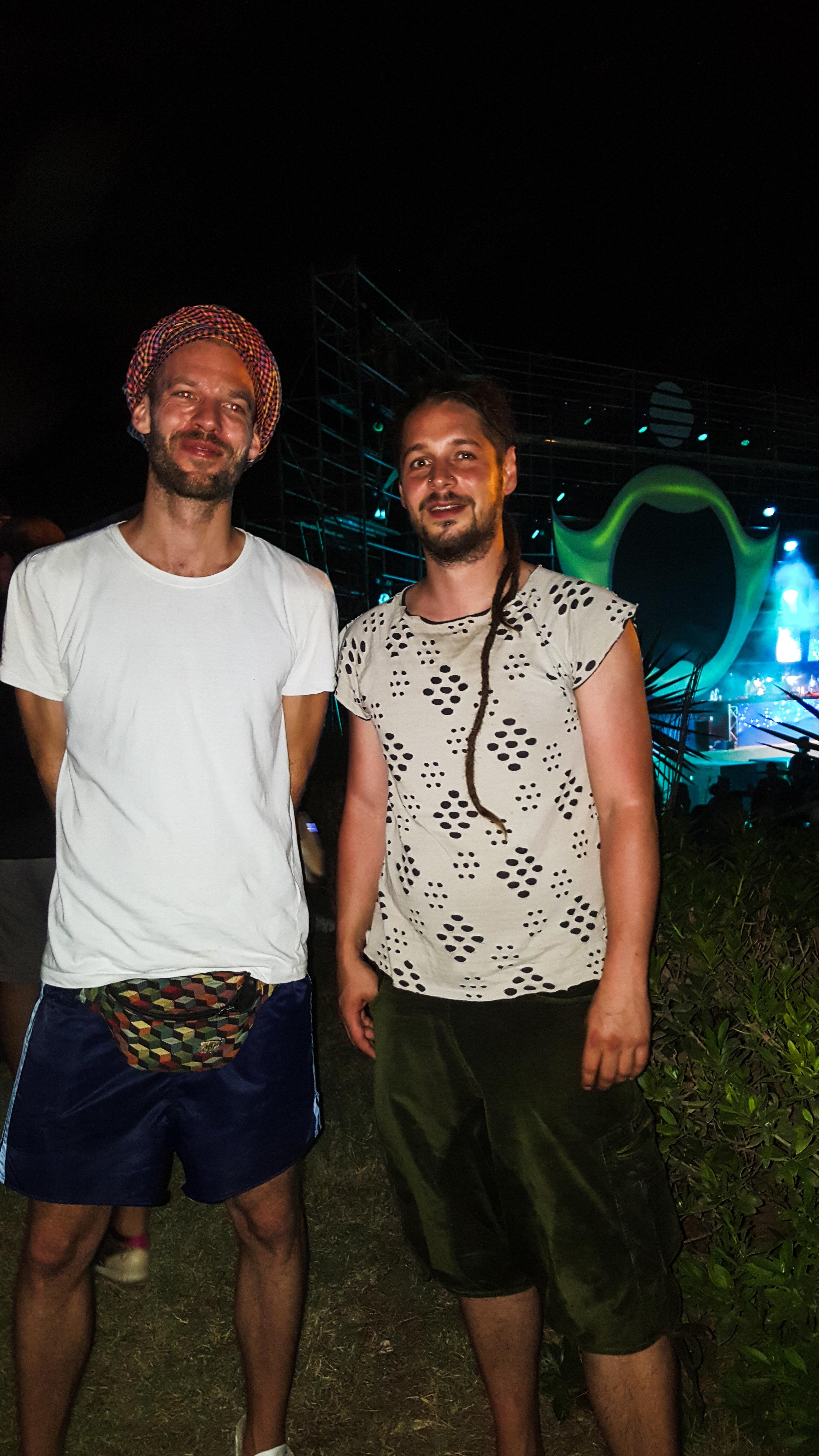 Interview de Doob & Janoma: Le duo berlinois qui a ouvert le Fairground