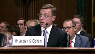 Andrew Oldham President Donald Trumps nominee to a seat on the US Circuit Court of Appeals for the Fifth Circuit