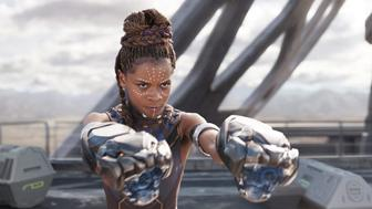 BLACK PANTHER, Letitia Wright, 2018. � Marvel / � Walt Disney Studios Motion Pictures /Courtesy Everett Collection