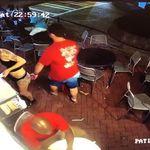 Πελάτης του μαγαζιού παρενοχλεί σεξουαλικά τη σερβιτόρα κι εκείνη υπερασπίζεται τον εαυτό