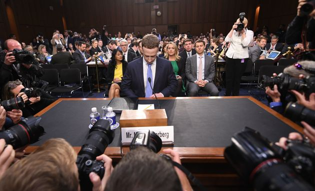 Facebook CEO Mark Zuckerberg testified about Facebook's practices before the U.S. Senate in