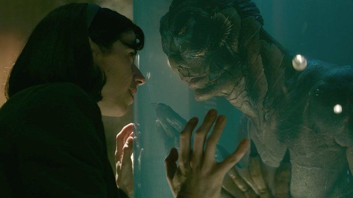 """A scene from """"The Shape of Water,"""" which received both praise and criticism for its treatment of disability."""