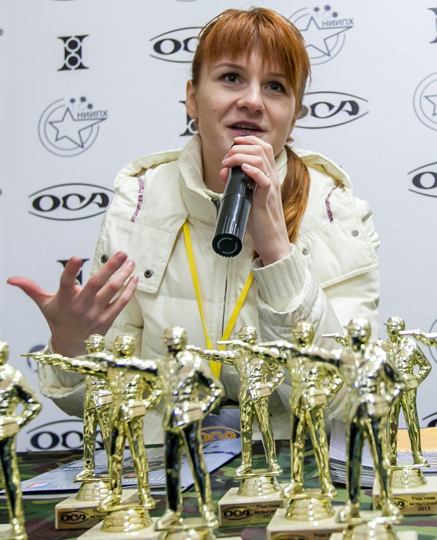Προφυλακιστέα η Μαρία Μπούτινα που κατηγορείται ότι ενεργούσε ως πράκτορας της ρωσικής