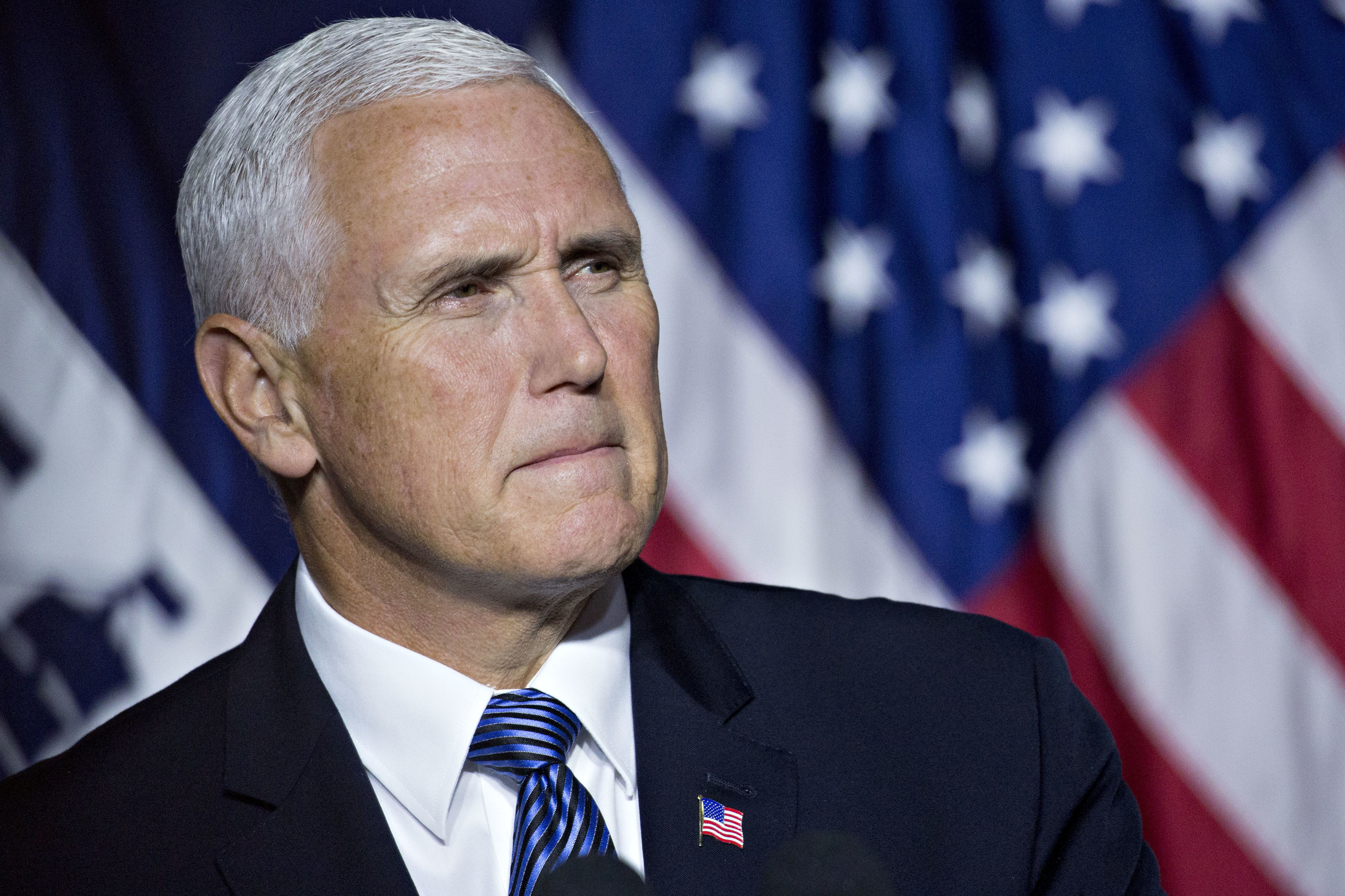Vice President Mike Pence defended President Donald Trump after the barrage of bipartisan criticism sparked by Trump's commen