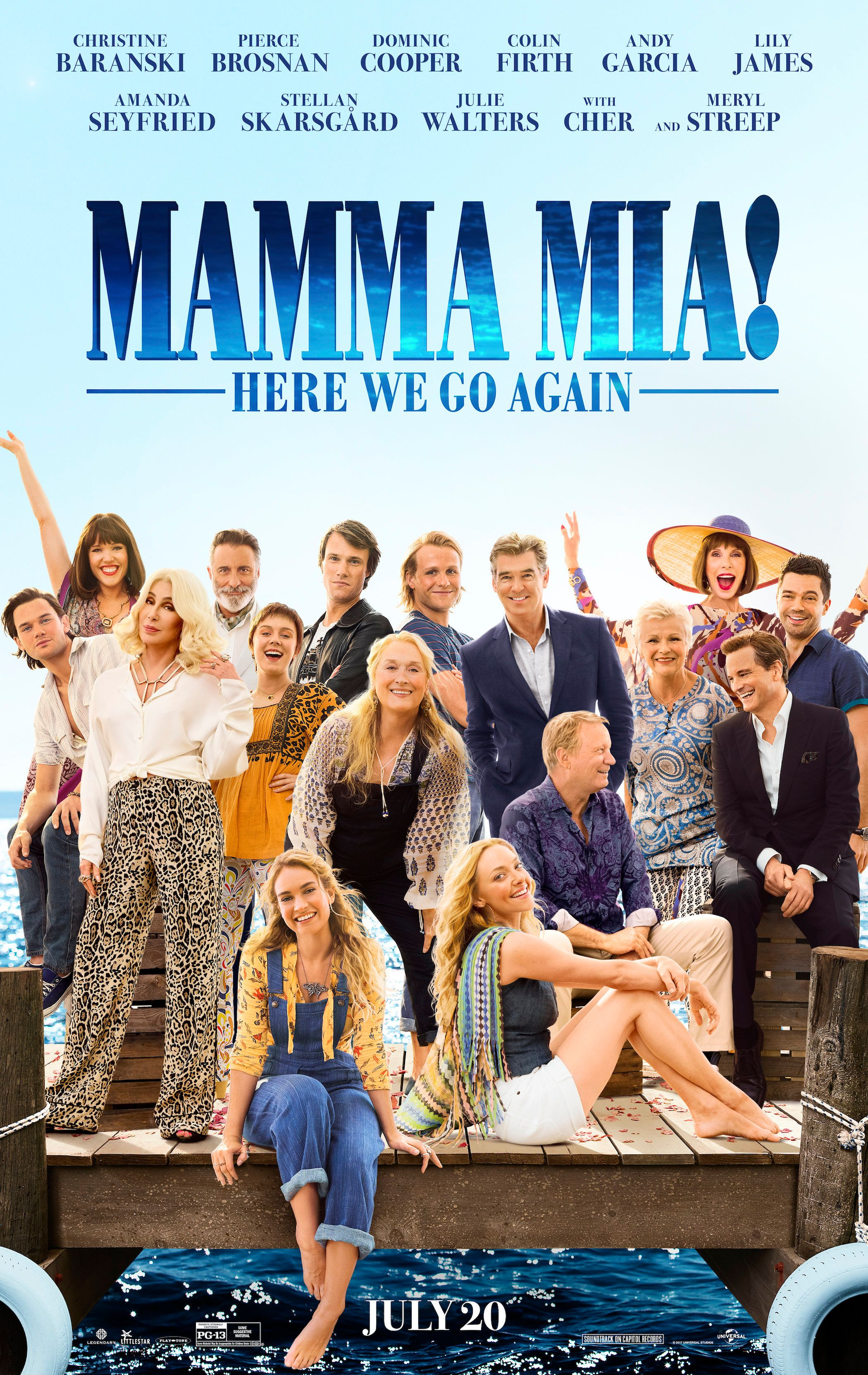 The 15 Minutes That Make 'Mamma Mia: Here We Go Again' Worth