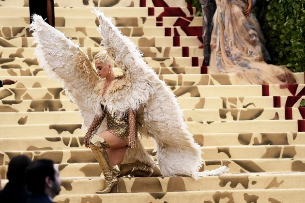 Katy Perry attends the 2018 Met Gala in New York City. This year's theme was
