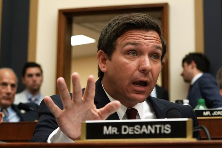 Rep. Ron DeSantis has done a lot of his campaigning from a Washington television studio.