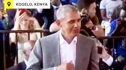 El sensual baile de Obama en Kenia que te alegrará el