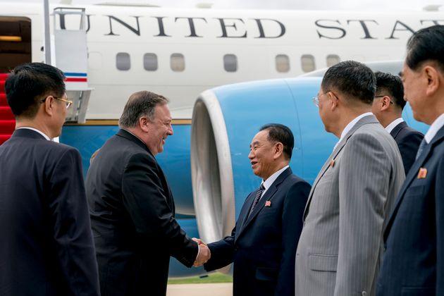 폼페이오가 북한 비핵화 합의에 '시간이 걸릴 것'이라고