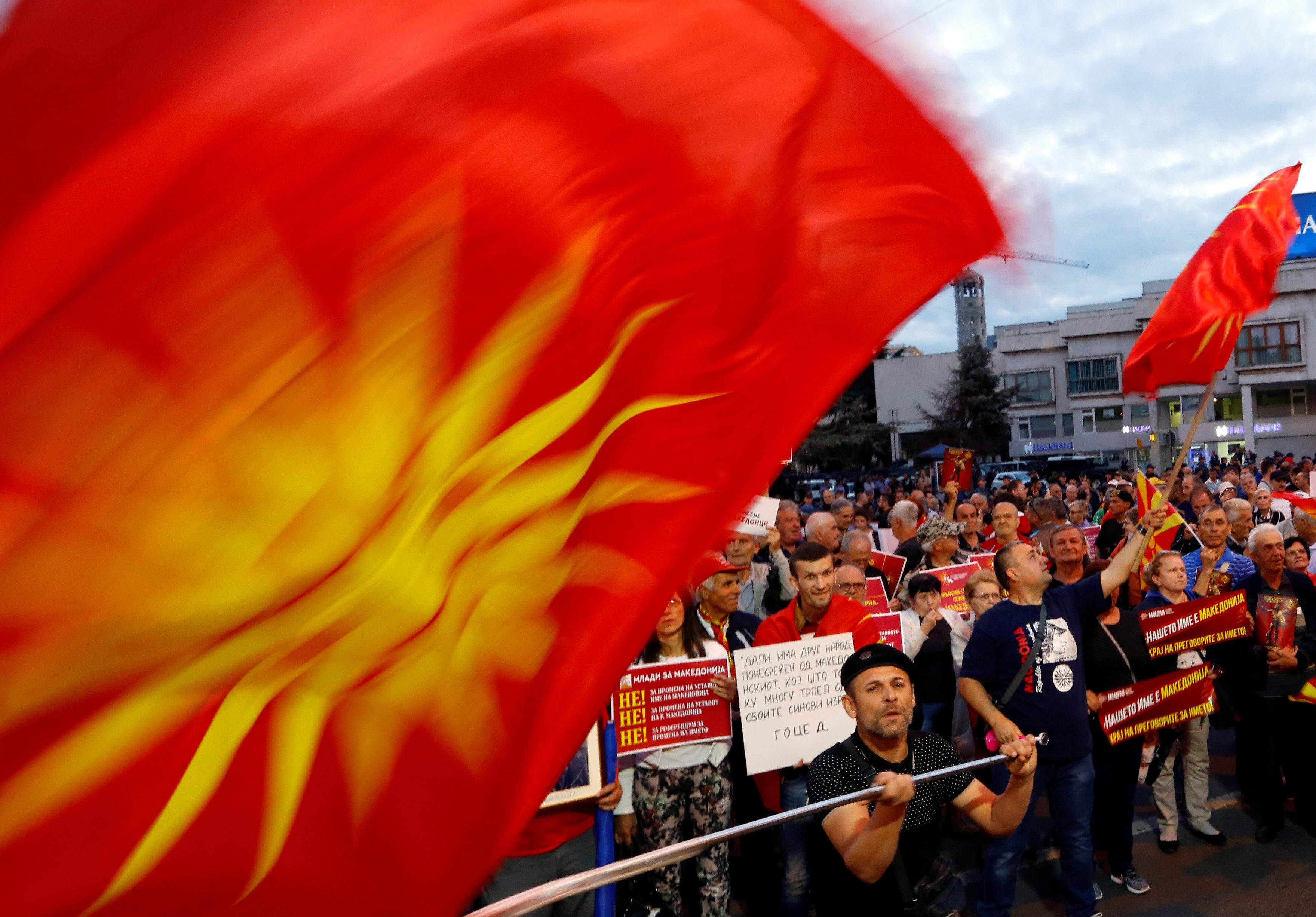 Συνάντηση Ζάεφ με πολιτικούς αρχηγούς της πΓΔΜ. Βασικό θέμα η διατύπωση του ερωτήματος στο