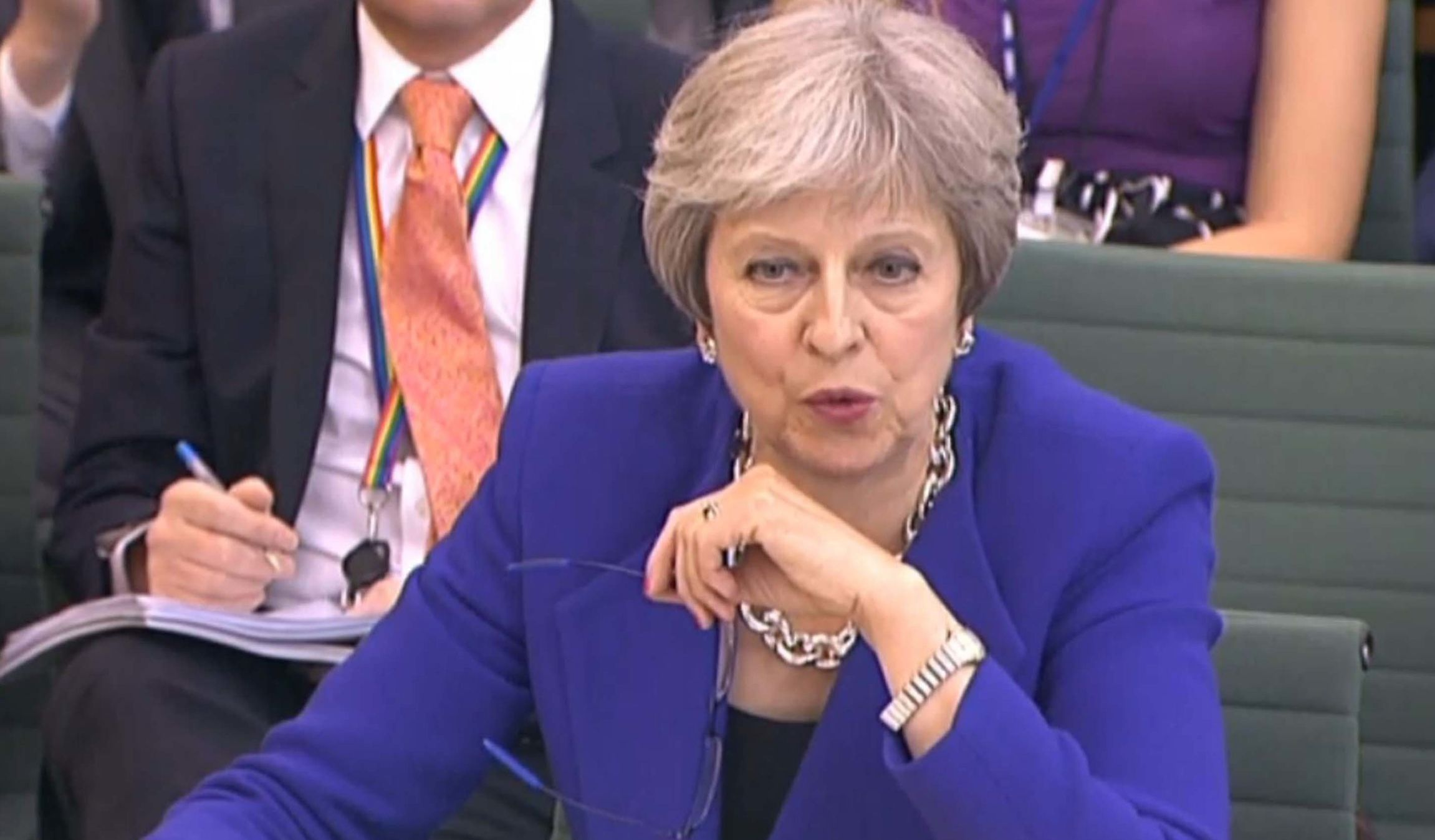 Watch Theresa May slammed by Tory MP: 'When did Brexit mean Remain?'