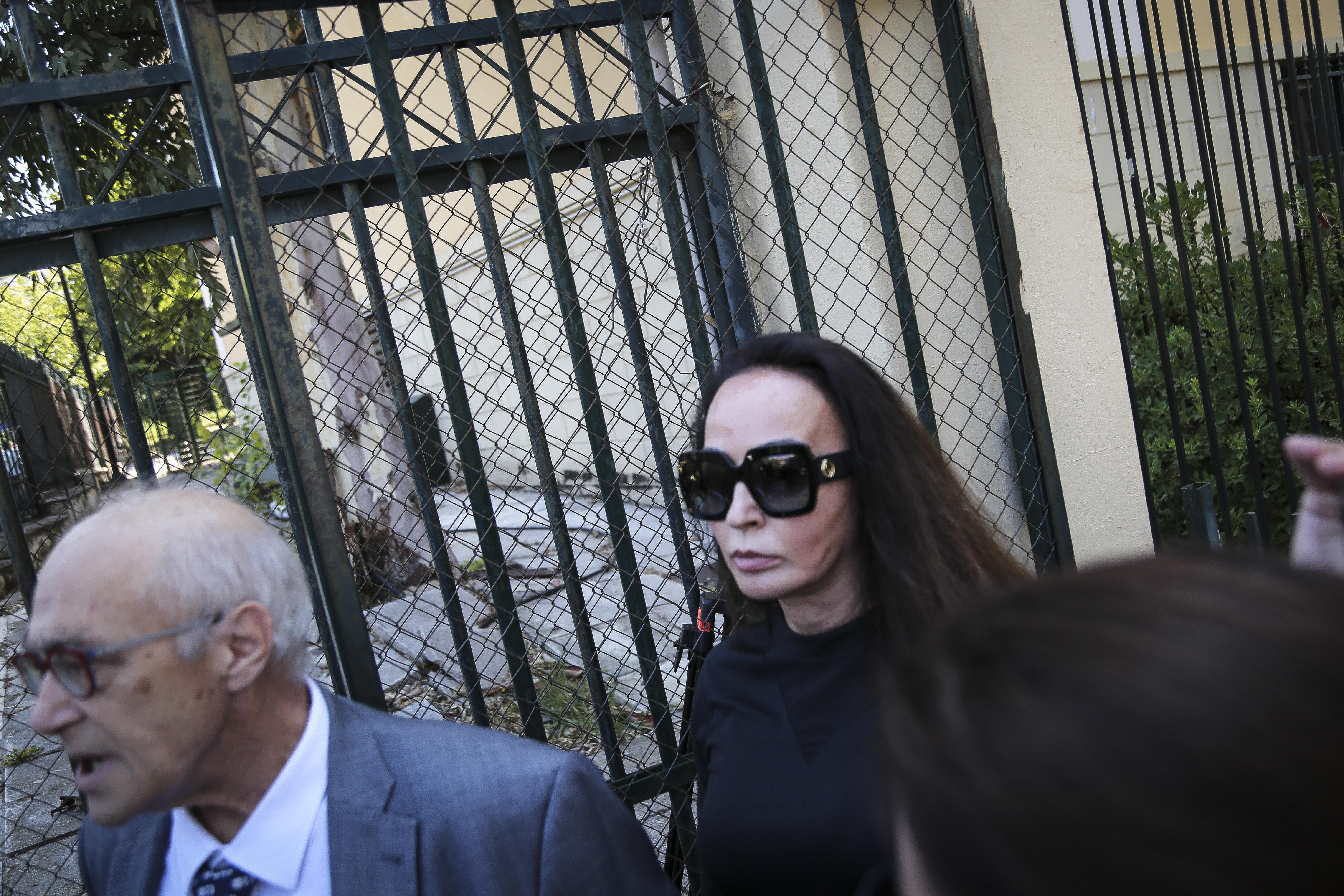 Ελεύθερη χωρίς όρους αφέθηκε η Βίκυ Σταμάτη μετά την απολογία της για την υπόθεση του ελβετικού συμβολαίου