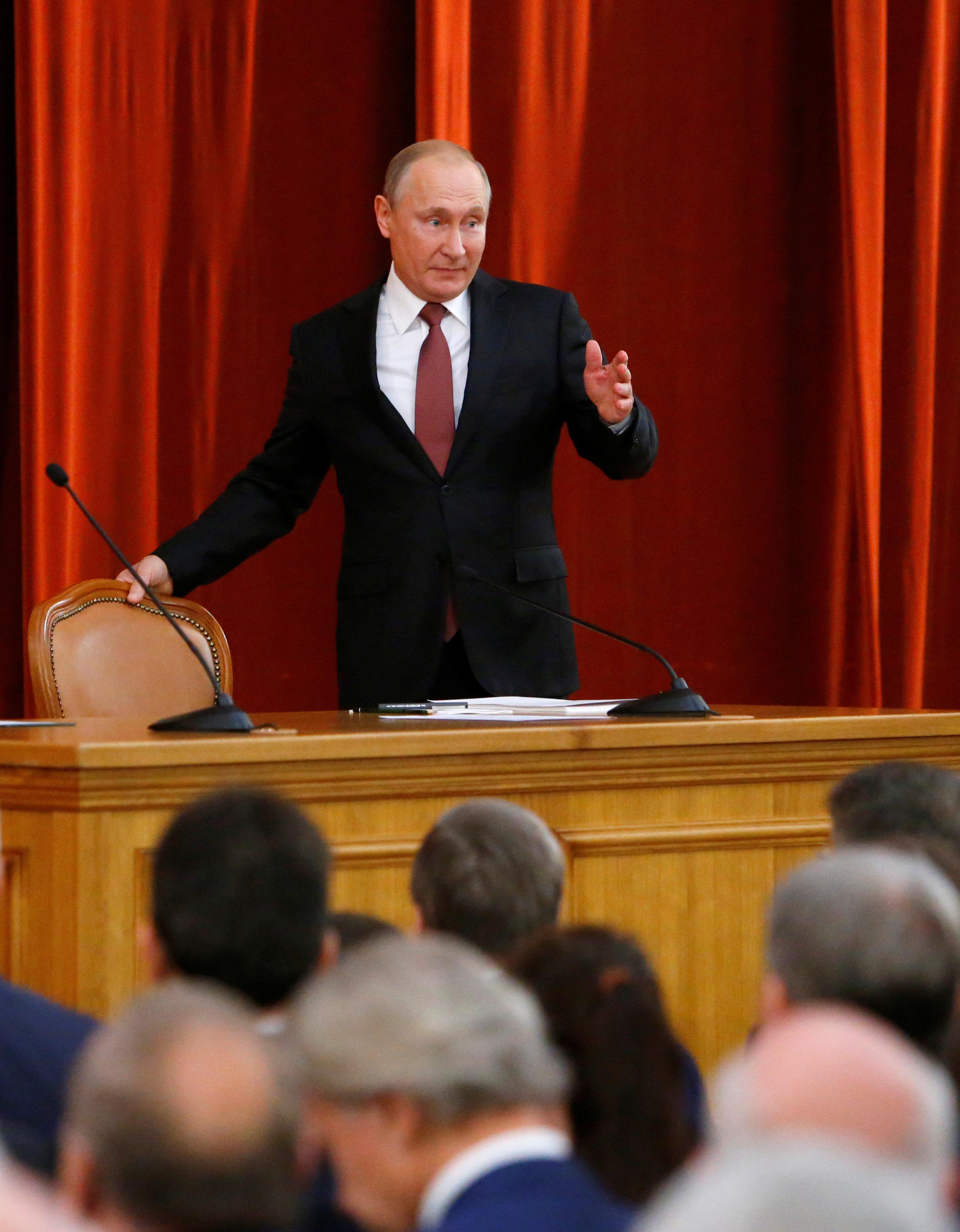 Πούτιν: Στις ΗΠΑ υπάρχουν δυνάμεις έτοιμες να θυσιάσουν τις ρωσο-αμερικανικές