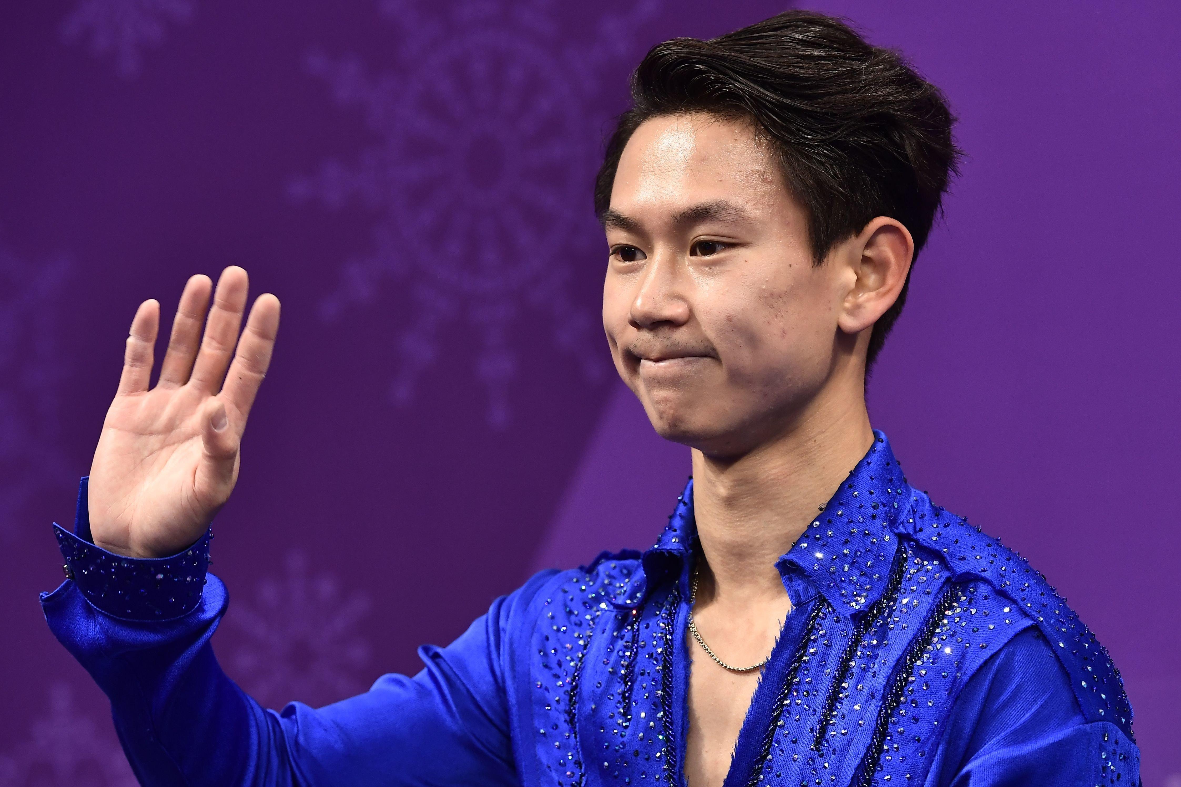 카자흐스탄 피겨 선수 데니스 텐이 25살의 나이로