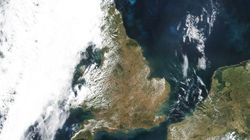 Satellite Reveals UK Scorched By