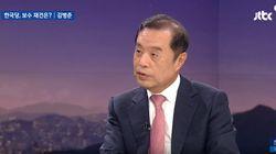 김병준 한국당 비대위원장이 '골프 접대 의혹'을 재차