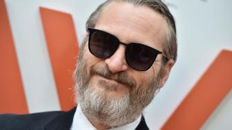 HOLLYWOOD, CA - JULY 11:  Actor Joaquin Phoenix arrives at Amazon Studios premiere of 'Don't Worry, He Won't Get Far on Foot' at ArcLight Hollywood on July 11, 2018 in Hollywood, California.  (Photo by Axelle/Bauer-Griffin/FilmMagic)
