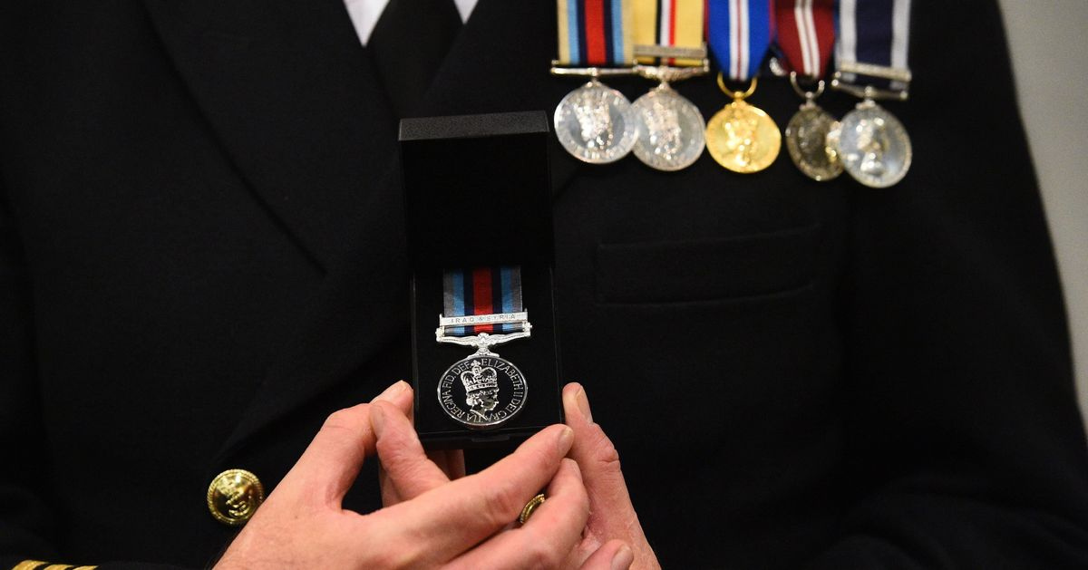 New Bravery Medals Awarded To British Soldiers Battling ISIS