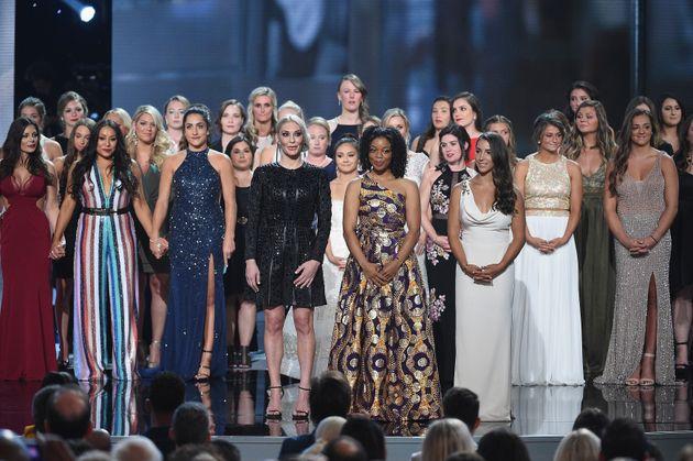 141 des victimes d'abus sexuels de Larry Nassar ont reçu un prix du courage aux ESPYS