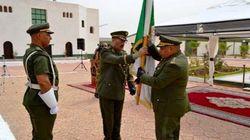GN : Installation du commandant de la 2e RM à